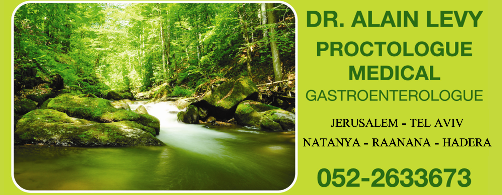 DR. ALAIN LEVY – proctologue médical  |  gastroentérologue